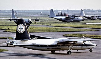 Aero Trasporti Italiani - The Fokker F-27 Friendship was the first plane employed by the Italian airlines.