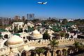 Aerolineas Argentinas Boeing 737-800 overflying Tierra Santa Themepark.jpg