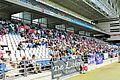Aficionados R.Oviedo esperando a F. Hierro.jpg