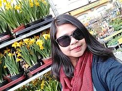 Afifa Afrin at Munich City Centre.jpg