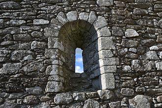 Aghowle Church - Window detail