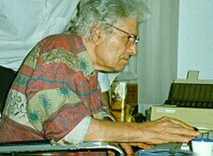 Ahmad Shamlou - Ahmad Shamlou writing