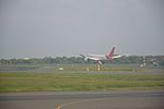 Air India Flight Takes Off - Runway 11-29 - Indira Gandhi International Airport - New Delhi 2016-08-08 9243.JPG