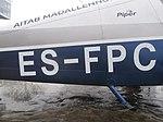 Aircraft Registration ES-FPC Kesklinn Tallinn 19 February 2019.jpg