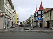 Akureyri is the largest town in Iceland outside of the greater Reykjavík area. Most rural towns are based on the fishing industry, which provides 40% of Iceland's export.