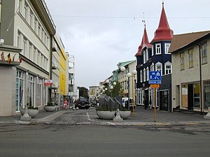 Akureyri is the largest town in Iceland outsid...
