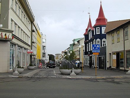Akureyri is the largest town in Iceland outside the Capital Region. Most rural towns are based on the fishing industry, which provides 40% of Iceland's exports - Iceland