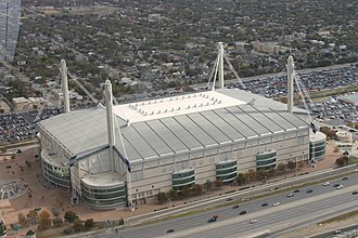 Alamodome - Aerial view from the top of the Tower of the Americas