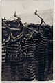 Alan Lomax, Convicts singing in woodyard, Reed Camp, South Carolina, 1934.jpg