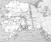 Alaska Road Commission 1920 map
