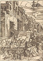 Albrecht Dürer, Sojourn of the Holy Family in Egypt, c. 1504, NGA 6707.jpg