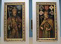 Albrecht Dürer, doppio ritratto degli imperatori carlo magno e sigismondo, 1511-13 ca.JPG