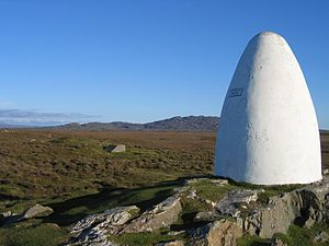 Clifden - Alcock and Brown landing site