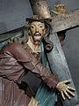 Aleijadinho - Detalhe de Jesus - Carregamento da cruz 4 - Santuário do Bom Jesus de Matosinhos - Congonhas.jpg