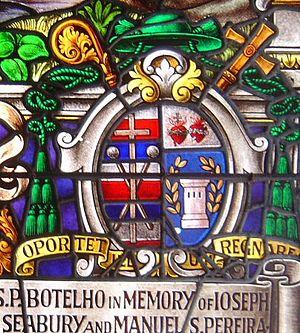 Stephen Alencastre - Alencastre's episcopal arms.
