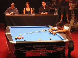 Alex Lely - Alex Lely at the 2007 World Trickshot Masters tournament