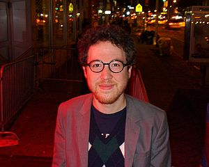 Salon (website) - Alex Pareene, who wrote about politics for Salon, in New York in 2012