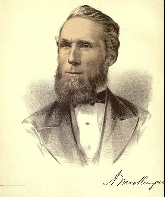 Alexander Mackenzie (politician) - A painting of Mackenzie