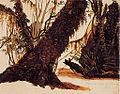 Alexander Simon - Estudio de árboles de Llanquihue, 1852.jpg