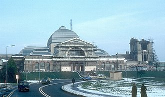 Alexandra Palace - Reconstruction in 1982, after a fire in 1980 destroyed much of the building