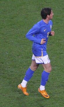 aae59048d7 Alexandre Pato na sua partida de estreia pelo Brasil