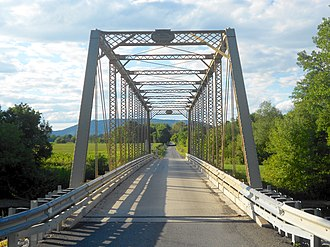 Frankstown Branch Juniata River - The Neff Bridge, spanning the Frankstown Branch northwest of Huntingdon