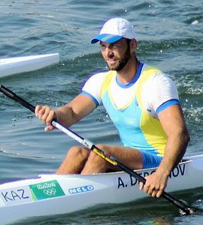 Alexey Dergunov Kazakhstani sprint canoer