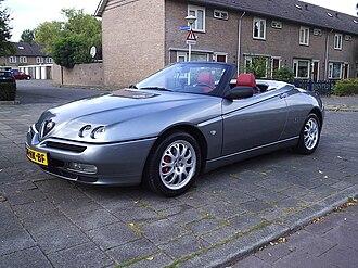 Alfa Romeo GTV and Spider - Alfa Romeo Spider