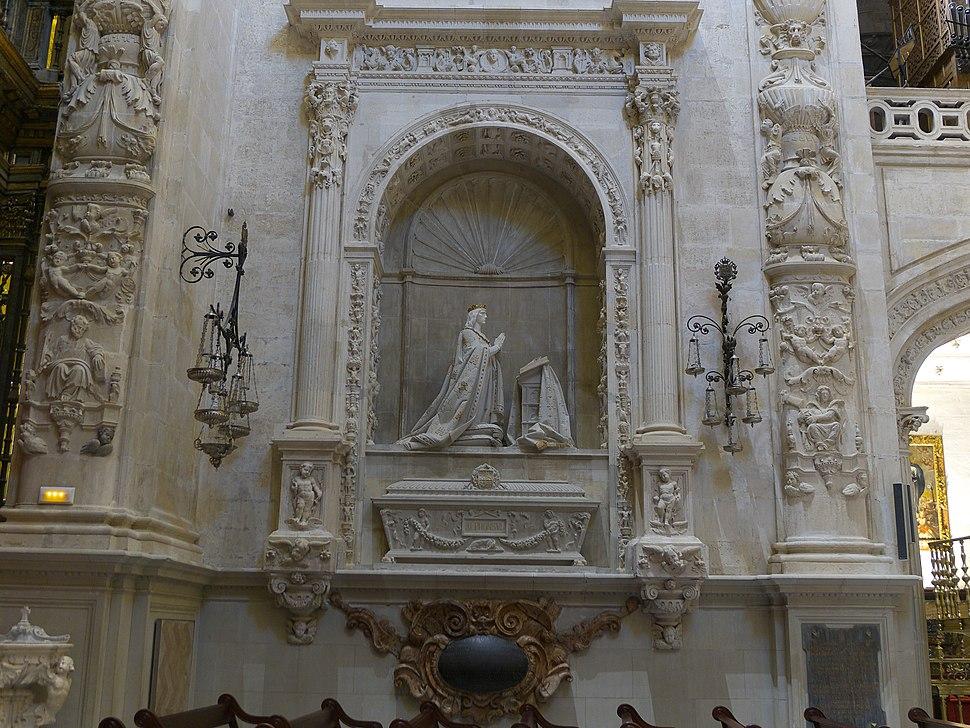 Alfonso X de Castilla. Sepulcro