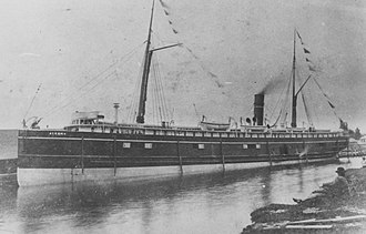 National Register of Historic Places listings in Keweenaw County, Michigan - Image: Algoma Steamer