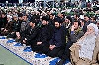 Ali Khamenei Praying for Ayatollah Hashemi Shahroudi013.jpg