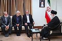 Ali Khamenei met with Ziyad Al-Nakhaleh04.jpg