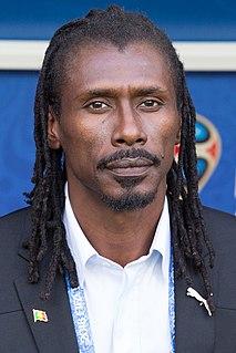 Aliou Cissé Senegalese coach and former player