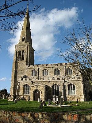 Ellington, Cambridgeshire - Image: All Saints Church, Ellington