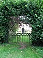 All Saints Church - churchyard gate - geograph.org.uk - 1395770.jpg