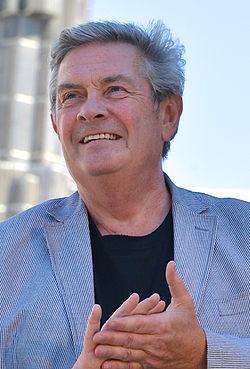 Allan Svensson på Sergels torv under Stockholms Kulturfestival 2013.