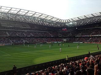 OGC Nice - Nice moved to the Allianz Riviera in September 2013