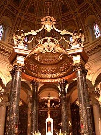 Cathedral of Saint Paul (Minnesota) - Baldachin of the Cathedral of Saint Paul