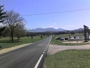 Arcinazzo Romano - View of Arcinazzo's plateau.