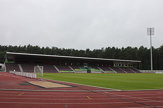 DFK Dainava Alytus - Image: Alytaus stadionas 1