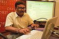 Amartya Talukdar - Editing Session - Wikilearnopedia - Oxford Bookstore - Kolkata 2015-08-23 3639.JPG