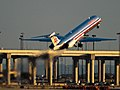 American Airlines MD-82 (N553AA) departing Dallas-Fort Worth International Airport.jpg