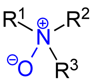 Amine oxide - General structure of an amine oxide