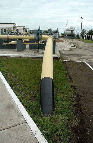 Pipeline transport - The world's longest ammonia pipeline from Russia to Ukraine.