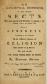 An alphabetical compendium of the various sects (1784).png