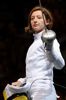 Ana Maria Popescu Romanian épée fencer