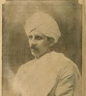 Ananda Coomaraswamy - Portrait of Ananda Coomaraswamy, published 1907