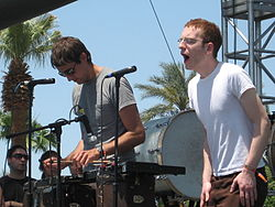 Anathallo beim Coachella Valley Music and Arts Festival 2007 in Kalifornien.