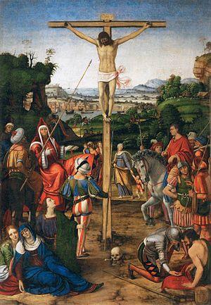 Andrea Solari - Image: Andrea Solario The Crucifixion WGA21599