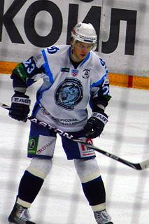 Andrei Stas Belarusian ice hockey player